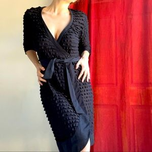 Luxe GEORGE GROSS (10) ruffle wrap gown